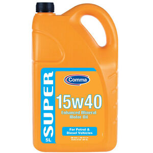 *** Comma SMO5L 5L Super 15W40 Enhanced Mineral Motor Oil ***