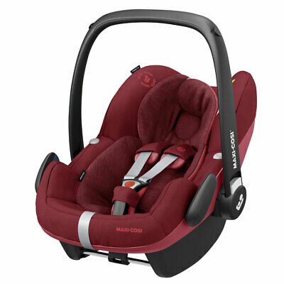 Maxi-Cosi Pebble Pro baby car seat Grp0 Essential Red RRP£199 -B-Graded