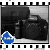 Canon Eos 5d - Reflex Professionale, Full Frame Arancione- canon - ebay.it