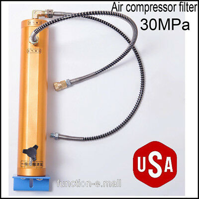Usa 30mpa High Pressure Air Filter Oil-water Separator For Air Pumpair Tank