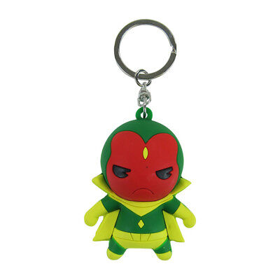 New Avengers Vision Android Marvel Comics Blind Bag Series 2 Figural Keychain