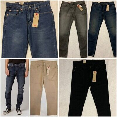 NWT MENS Levi's 511 Slim Fit Stretch Jeans Variety Fast Ship Pick your -