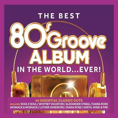THE BEST 80'S GROOVE ALBUM IN THE WORLD...EVER! 3 CD SET (Released 13/09/2019)