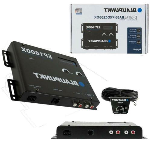 Blaupunkt EP1600X Car Audio Digital Bass Boost Processor/EQ (Epicenter) +Remote