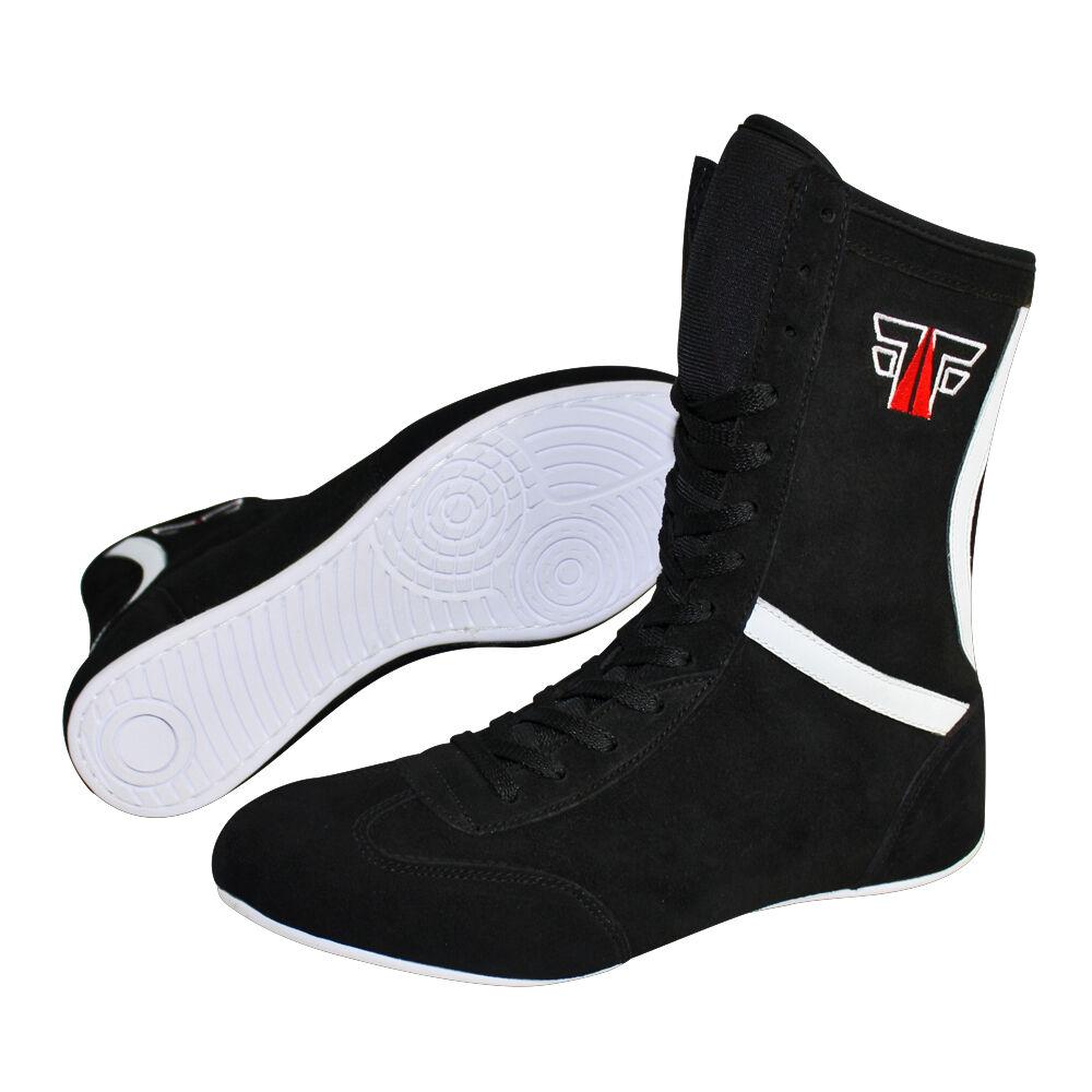 Details zu FOX FIGHT Boxing Schuhe Boxstiefel Boxschuhe Box Hog Boxerstiefel Leder