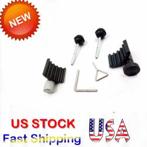 For AUDI DIESEL ENGINE TIMING CRANK & CAM TOOLS VW 1.2 1.4 1.9 2.0 TDI PD