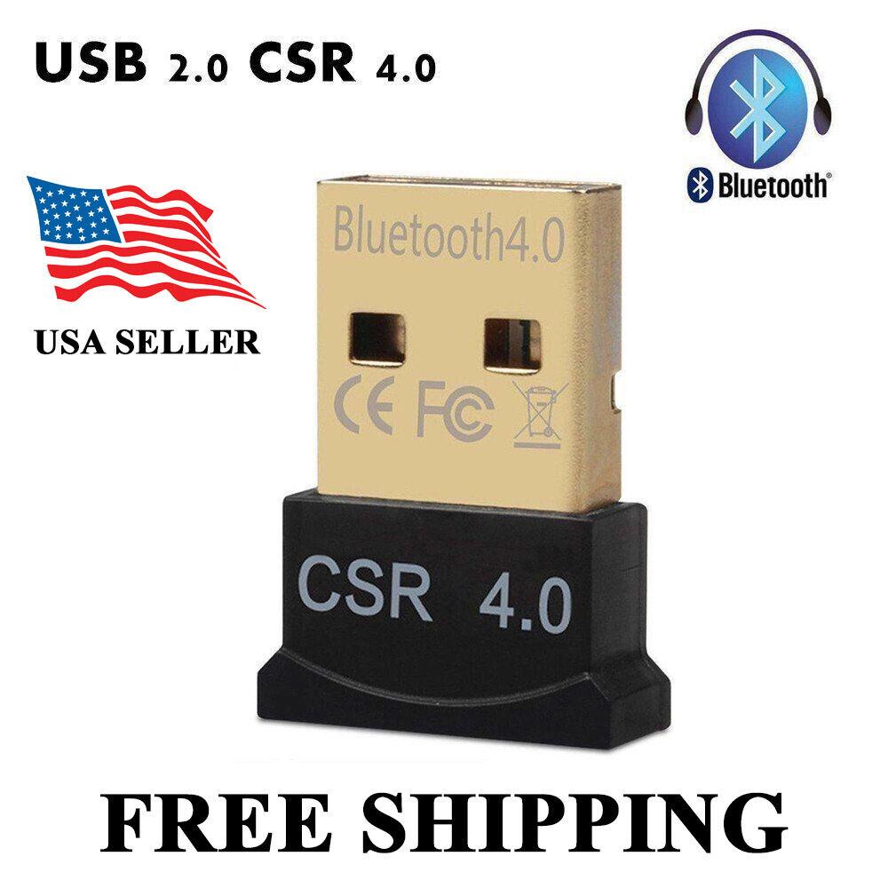 USB 2.0 Bluetooth Dongle EDR V2.0 Wireless Adapter PC Laptop