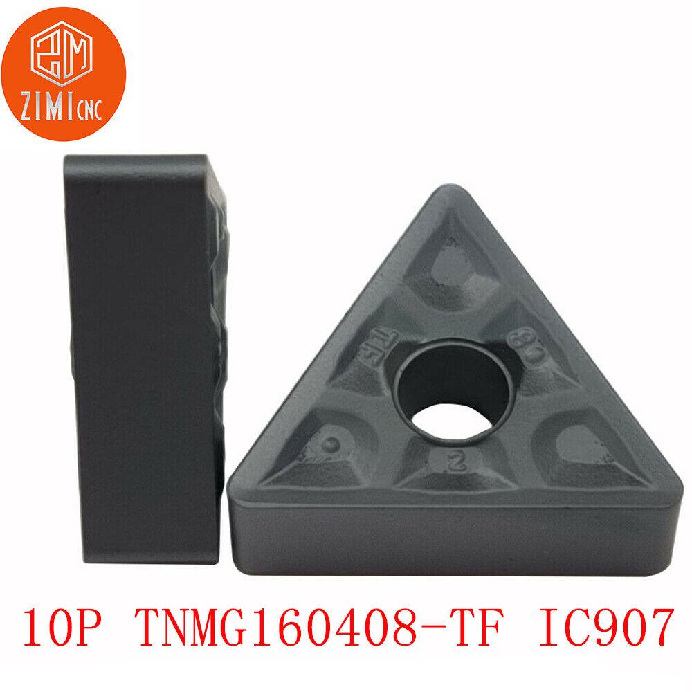 TNMG160408-TF IC907 TNMG332-TF IC907 CNC alloy carbide insert lathe cutting tool