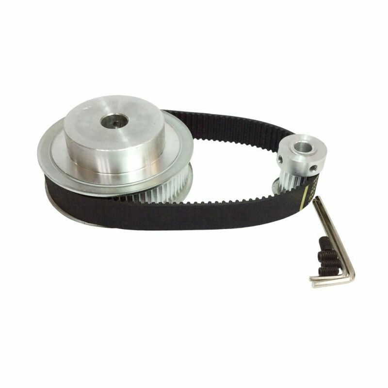 HTD 3M Timing Belt Pulley 4:1 72 Teeth and 18 Teeth Shaft Center Distance 90mm