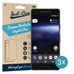 Just in Case Google Pixel 2 Screenprotector - 3 stuks - Crys