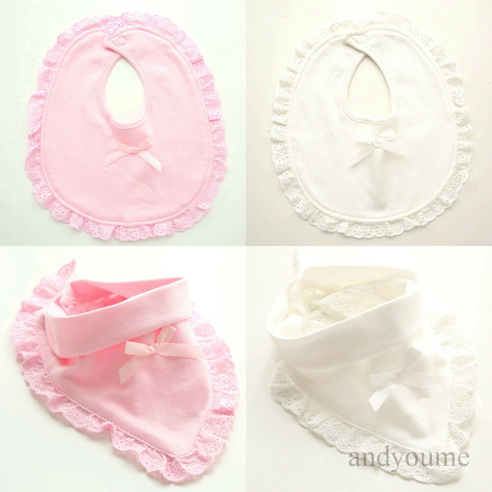 Newborn Baby Toddler Bibs Boy Girl Saliva Towel Kids Soft Bib Feeding T