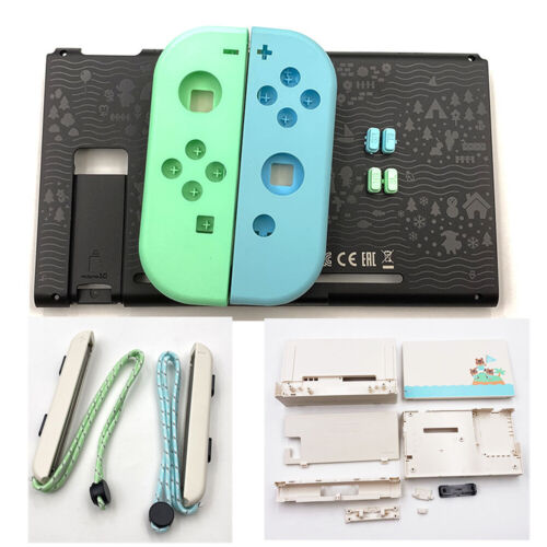 Housing Shell Straps Animal Crossing for Nintendo Switch Console/Joy-Con/Dock