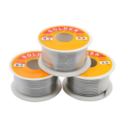 Lead Free Solder Wire Sn99.3 Cu0.7 Rosin Core Fits Electronic 100g3.5oz 1mm