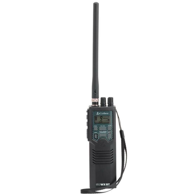 Cobra Electronics HH 50 WX ST Portable 40 Channel CB Radio NOAA Weather Alerts