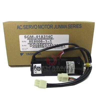 New In Box Yaskawa Sgm-01a314c Servo Motor 100w