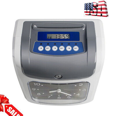 Hot Sale Electronic Time Clock Recorder Wcard Monthly Weeklybi-weekly