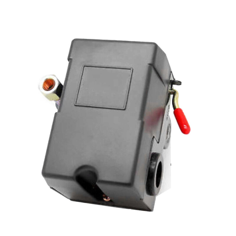 Air Compressor Pressure Switch Control Valve 90-120 PSI Single Port w/ Unloader