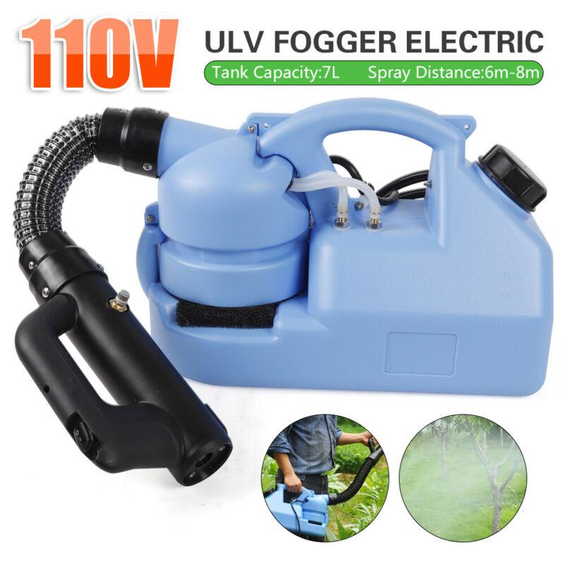 110V 7L ULV Fogger Electric Sprayer Mosquito Killer Sprayer US