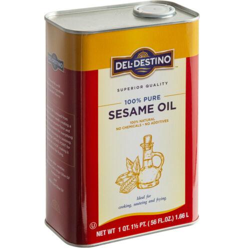 Del Destino 1.66 Liter 100% Pure Sesame Oil