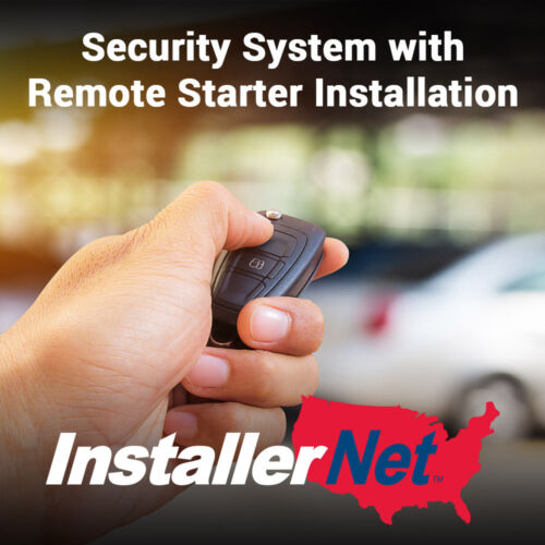 Car Security System & Remote Starter Install from InstallerNet-Lifetime Warranty