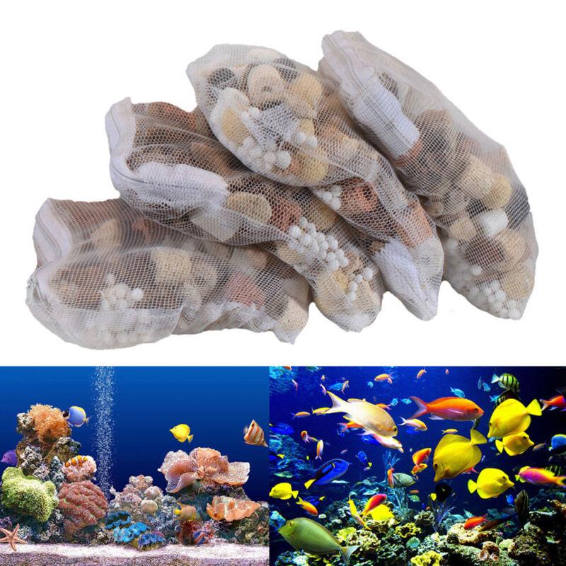 Aquarium Fish Tank Filter Media Activated Carbon Ceramic Rin