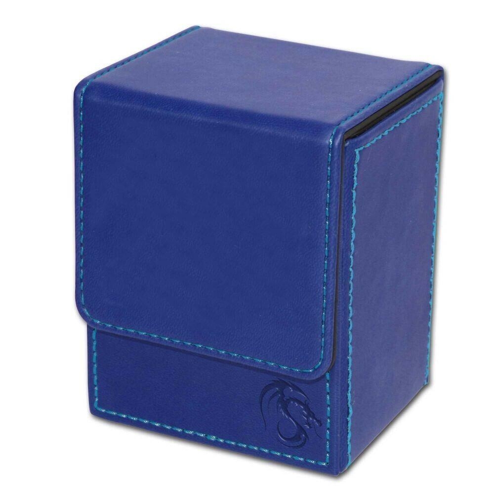 BCW Blue Deck Case LX Gaming Card Leatherette Magic the Gath