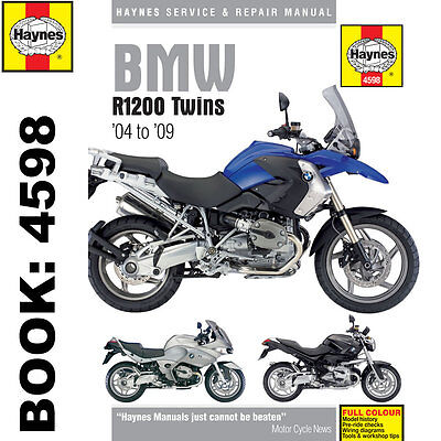 BMW R1200 Twins 2004-09 Haynes Workshop Manual