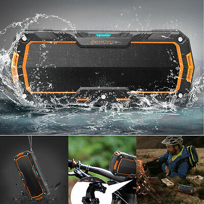 Protable Waterproof Wireless Bluetooth Stereo Bass Speaker for SmartPhone Tablet
