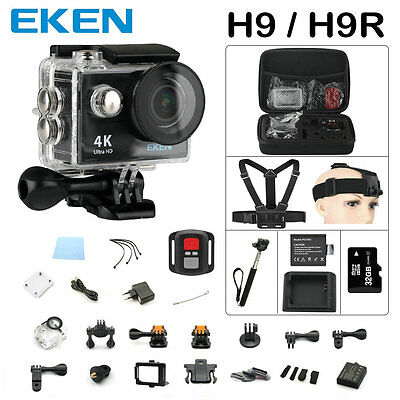 Original EKEN H9 / H9R remote Action camera Ultra HD 4K WiFi 1080P/60fps 2.0 LCD
