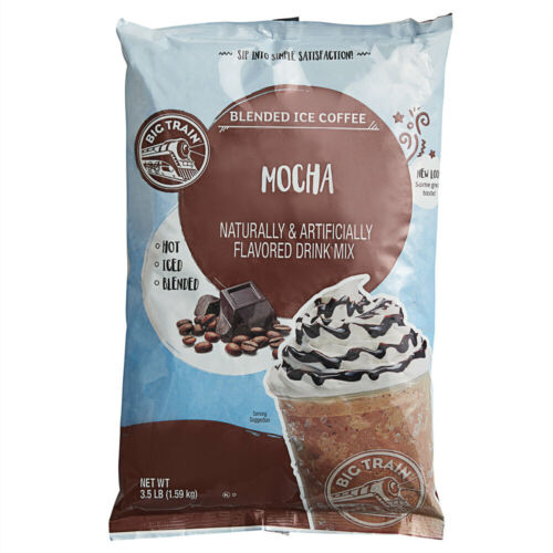 Big Train 3.5 lb. Blended Ice Coffee / Frappe / Latte Drink Mix (select flavor)