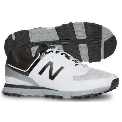 New Balance Nbg518 Spikeless Golf Shoes White/Black - Choose Size & Width