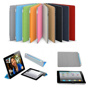 housse etui smart cover pour ipad 2 3 4 5 air mini coque. Black Bedroom Furniture Sets. Home Design Ideas