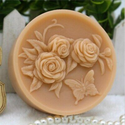 Flower Soap Molds for Soap Making DIY Craft Handmade Soap Melt and Pour Soap