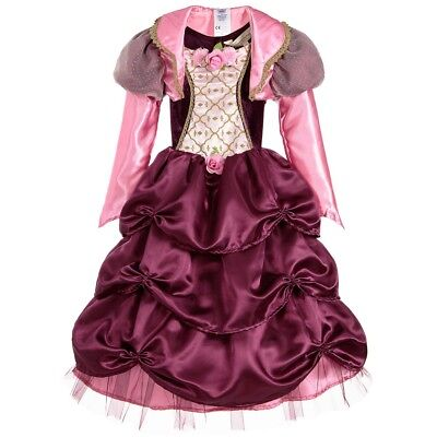 Prinz Kostüm Lila (Farbe Zwetschge Rosa Lila Prinzessinnenkleid Reifen Rock Kostüm - Buch Woche -)