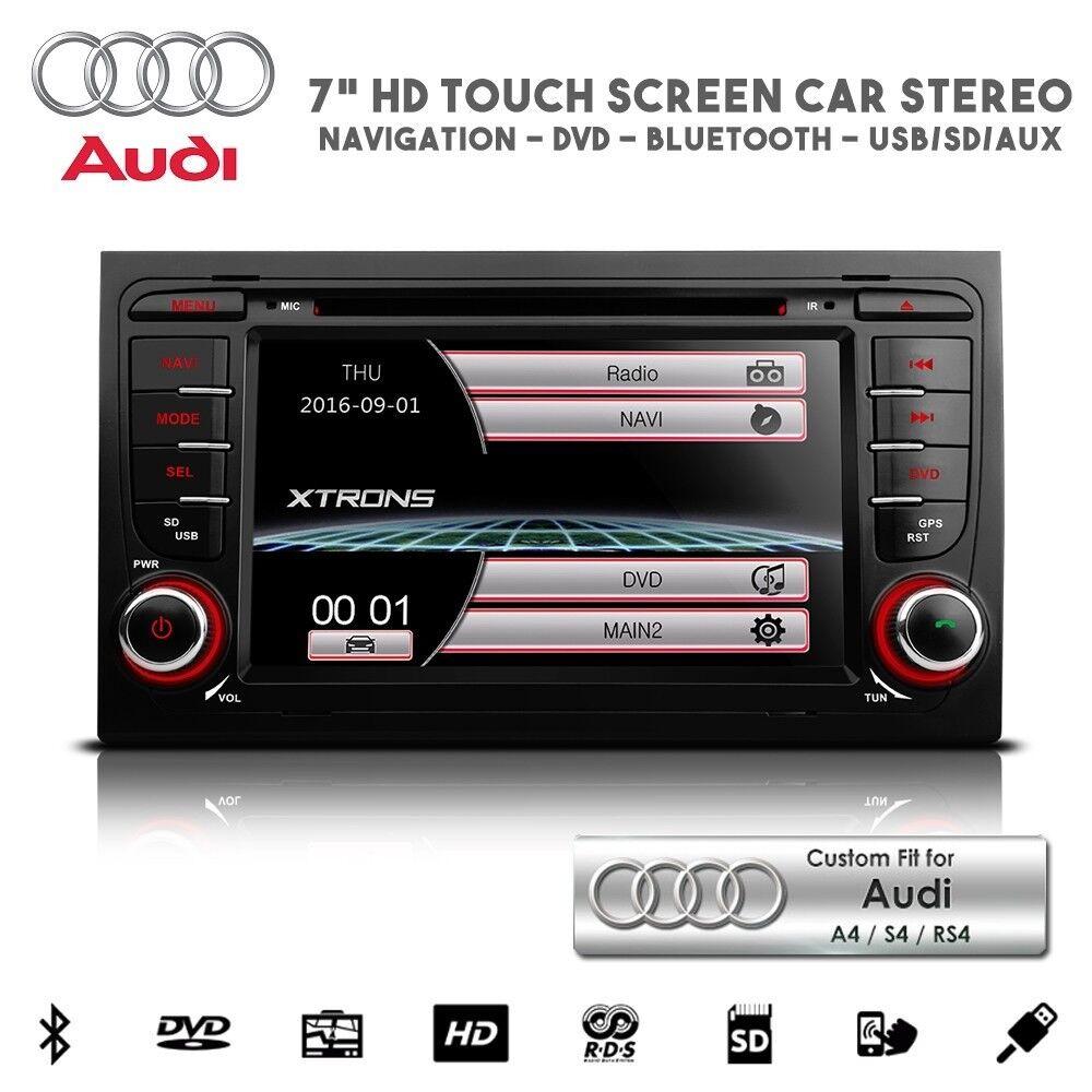 Audi A3 S3 A4 S4 Touchscreen GPS Bluetooth