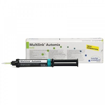 Ivoclar Vivadent Multilink Automix Easy Clean-up Transparent Refills