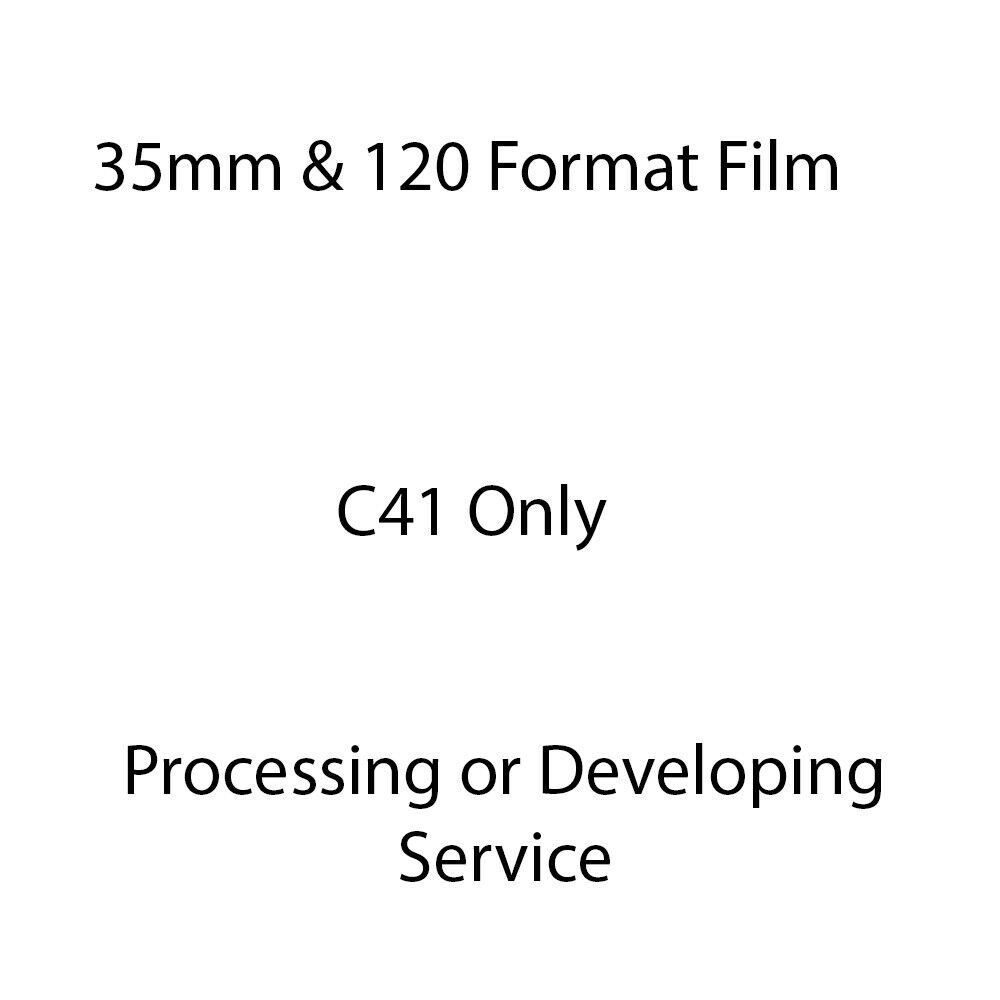 35mm Film Developing or Processing Service
