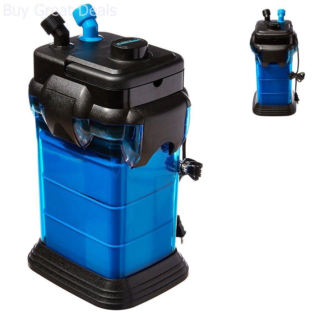 Details about Cascade Fish Tank Aquarium 1000 Canister Filter For 100  Gallon Aquariums New