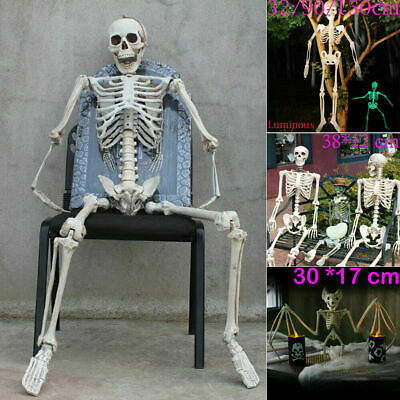 150cm Poseable Human Skeleton Halloween Decoration Party Prop