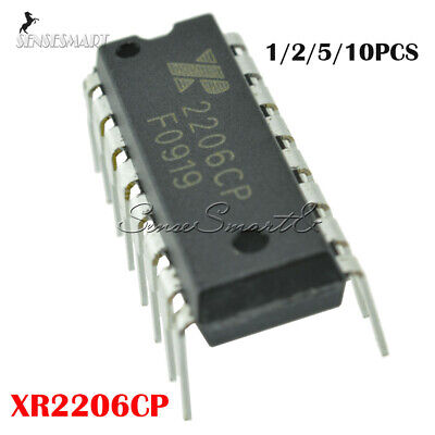 Xr-2206 1-10pcs Xr2206cp 2206cp Monolithic Function Generator Ic Exar Dip-16