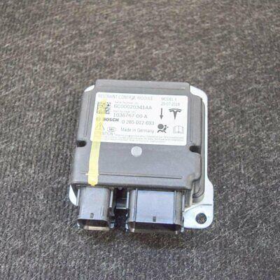 TESLA MODEL X Airbag ECU Control Unit 90D 1036767-00-A 0285012693 2016