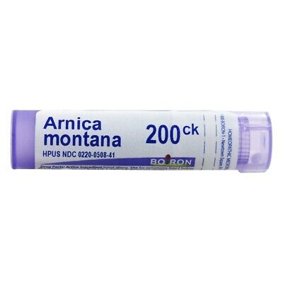 Boiron Arnica montana 200C, 80 Pellets, Homeopathic Medicine