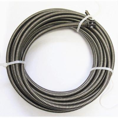 50 Ft. Drain Auger Cable Replacement Plumbing Snake Sink Clog Sewer Pipe Cleaner