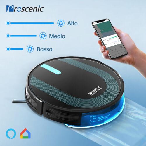 Proscenic 850P Robot Aspirapolvere lavapavimenti Auto Serbatoio Acqua Elettrico