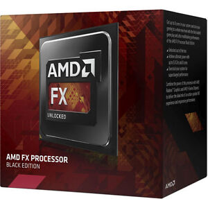 AMD FX-8370 BLACK Edition 8 Core Design 4Ghz / 4.3Ghz Turbo Core 16M Cache [F34]