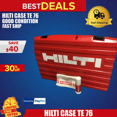 Hilti Case Te 76 Only Case Good Condition Hilti Grease Free Fast Ship