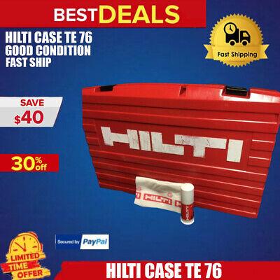 Hilti Case Te 76 Only Case Good Condition Hilti Grease Free Fast Ship