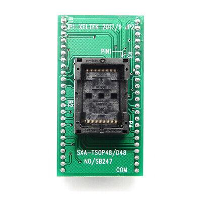 Xeltek Adapter Tsop48-dip48 Socket Tsop-48-0.5-ots04b