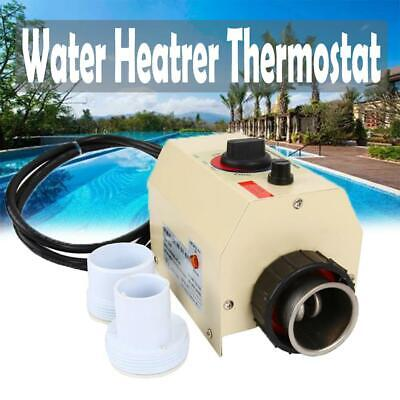 220v 3kw Swimming Pool Spa Hot Tub Electric Water Heater Thermostat 5060hz
