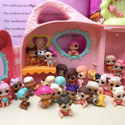 10X LOL Surprise Doll LiL Little Sister Baby Doll Gift Toy Send At Random